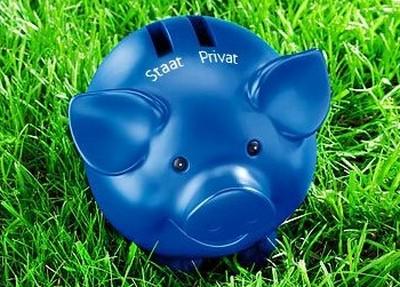 Bild  allianz schwein DWS mit Schweine Werbung wie Allianz