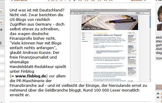 Finblog Handelsblatt