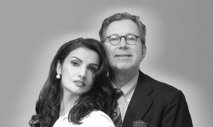 Juana Hüser Gomez de la Torre und Ehemann Dr. Hans O. Hüser