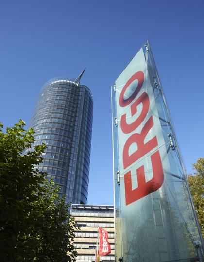 Hier im Ergo-Tower im schönen Düsseldorf entstand die Idee der nachträglichen Zahnversicherung