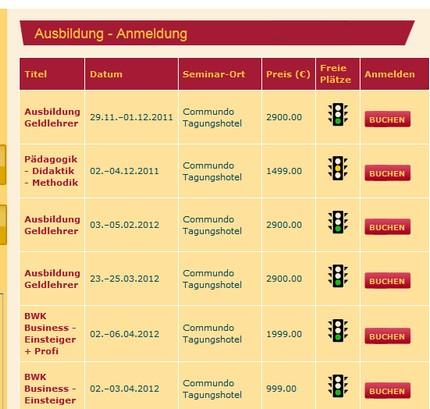 Bild  Geldlehrer Ausbildung Geldlehrer Verein Deutschland   eher eine Gelddruck Maschine