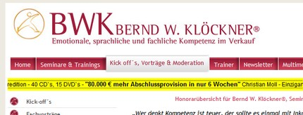 Bild  Geldlehrer Abschlussprovision Geldlehrer Verein Deutschland   eher eine Gelddruck Maschine